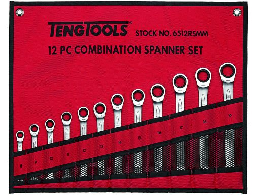 Special Offer: 12 Piece Ratcheting Combination Spanner Set