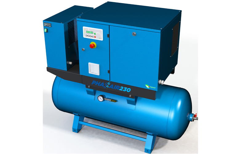 FPS Air Compressors to showcase the new Phazair 230 VSD Compressor at MECHANEX